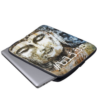 #bliss Zen Buddha Art Laptop Sleeve