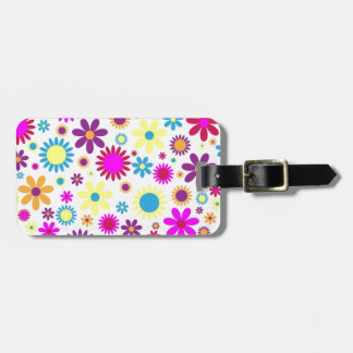 Blissful Blossoms Luggage Tag