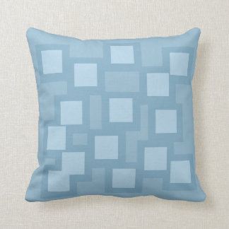 Blissful Blue Pillow/Cushion Vers 1 Squares Throw Pillow