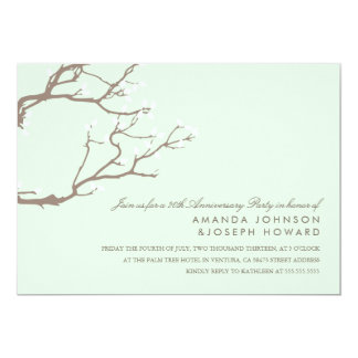 Blissful Branches Anniversary Party Invite