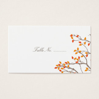 Blissful Branches Guest Table Escort Cards