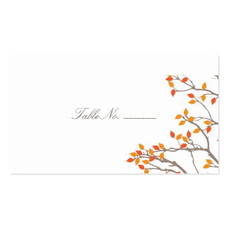 Blissful Branches Guest Table Escort Cards Business Card
