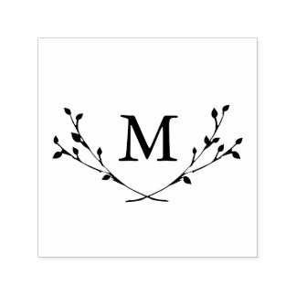Blissful Branches Monogram Stamp