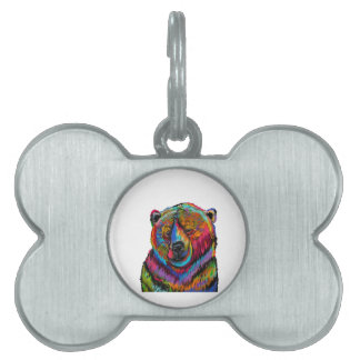 Blissful Wink Pet Tag