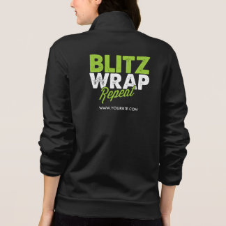 Blitz, Wrap, Repeat Jacket