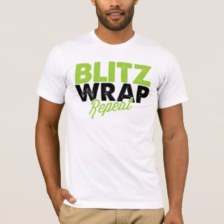 Blitz Wrap Repeat - Men's T-Shirt