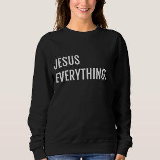 BLK JESUS EVERYTHING Sweatshirt