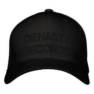 Blk on Blk Flexfit Embroidered Hat