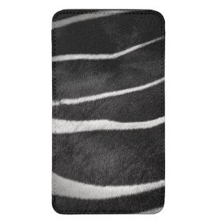 Blk&Wht Zebra Skin Galaxy S5 Pouch