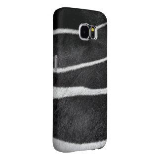 Blk&Wht Zebra Skin Samsung Galaxy S6 Cases