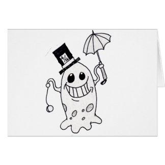 Blob guy card