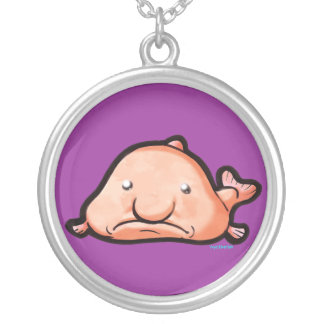 Blobfish Silver Plated Necklace