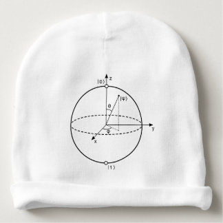 Bloch Sphere | Quantum Bit (Qubit) Physics / Math Baby Beanie