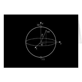 Bloch Sphere | Quantum Bit (Qubit) Physics / Math Card