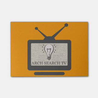 Block Arch Search TV Post-it Notes