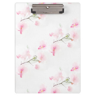 Block carrier Pattern Orchis Clipboard