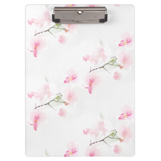 Block carrier Pattern Orchis Clipboards
