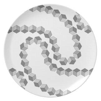 Block Chain Plate