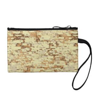 Block desert camouflage change purse