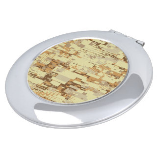 Block desert camouflage compact mirrors