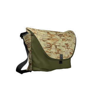 Block desert camouflage courier bags