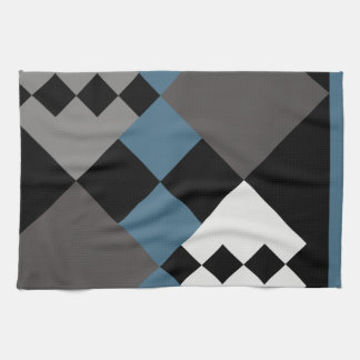 Block Diamond Kitchen Towel