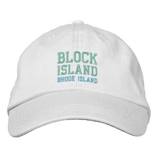 BLOCK ISLAND 1 cap Embroidered Baseball Cap