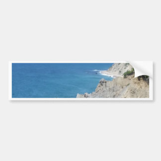 Block Island Bluffs - Block Island, Rhode Island Bumper Sticker
