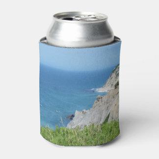 Block Island Bluffs - Block Island, Rhode Island Can Cooler