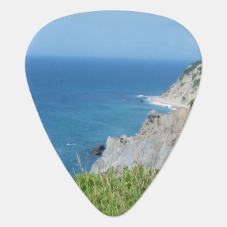 Block Island Bluffs - Block Island, Rhode Island Guitar Pick
