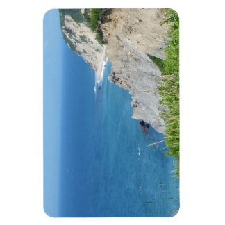 Block Island Bluffs - Block Island, Rhode Island Magnet