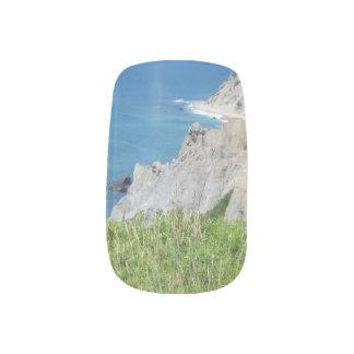 Block Island Bluffs - Block Island, Rhode Island Minx Nail Art