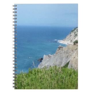 Block Island Bluffs - Block Island, Rhode Island Notebook