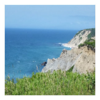 Block Island Bluffs - Block Island, Rhode Island Photo Print