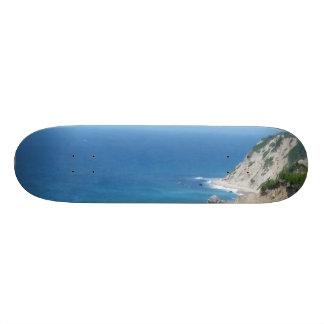 Block Island Bluffs - Block Island, Rhode Island Skate Board Decks