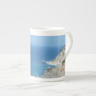 Block Island Bluffs - Block Island, Rhode Island Tea Cup