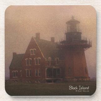Block Island Lighthouse Coaster