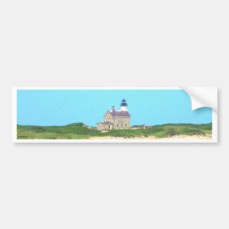 Block Island North Light Bumper Sticker