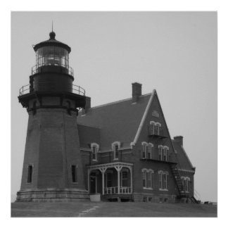 Block Island Southeast Light Poster