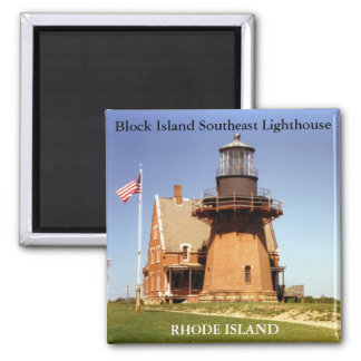 Block Island Southeast Lighthouse, RI Magnet