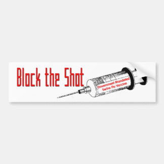 Block It Bumper Sticker