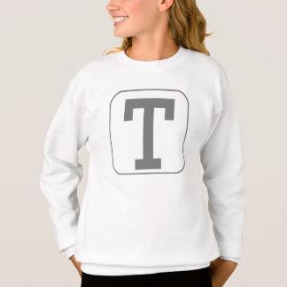 Block Letter T Sweatshirt