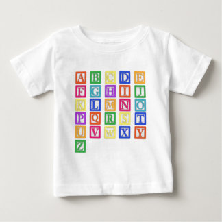 Block Letters Baby T-Shirt