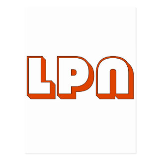 Block LPN Post Cards