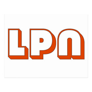Block LPN Postcards