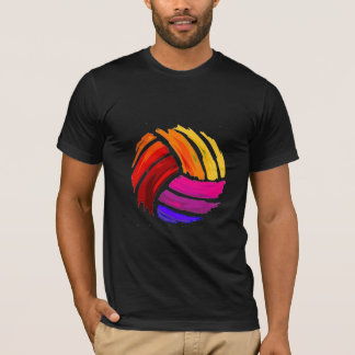 Block Painted Volleyball T-Shirt