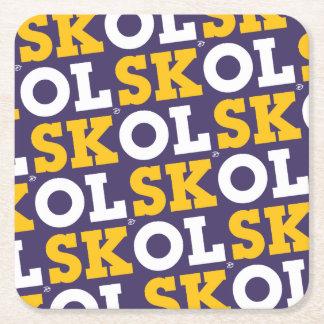 "Block Script ""SKOL"" - Coasters"