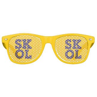 """Block Script """"SKOL"""" - Sunglasses (Yellow)"""