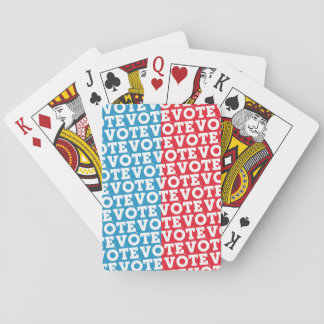 """Block Script """"VOTE Undecided"""" - Playing Cards"""