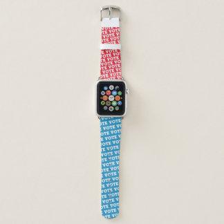 """Block Script """"VOTE"""" - Watchband Apple Watch Band"""